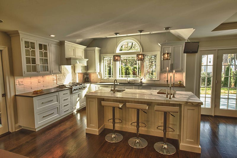 Traditional Transitional Kitchen The Creative Edge Inc Nava